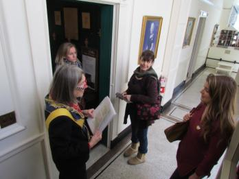 Visitors explored the museum in three ways: as spies solving a mystery, explorers on a scavenger hunt, or time-travelers on a docent-guided tour. Each experience encouraged attendees to visit the museum period rooms to learn about the way American homes and lifestyles have changed throughout the years.