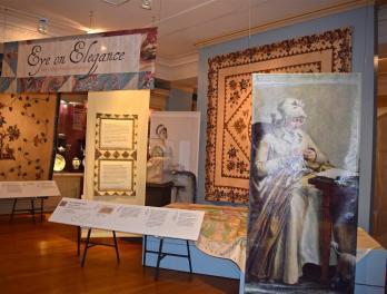 """""""Eye on Elegance"""" in DAR Museum's Main Gallery"""