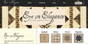 Online exhibit main page of eyeonelegance.dar.org