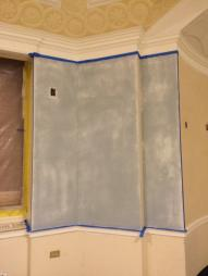 Venetian Plaster Drying