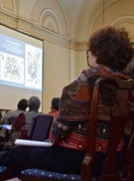 The symposium hosted 127 participants who enjoyed presentations by seven different authorities on quilts.