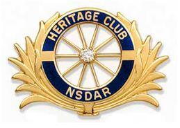 Heritage Club Diamond pin