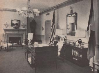 The President General's office in 1966